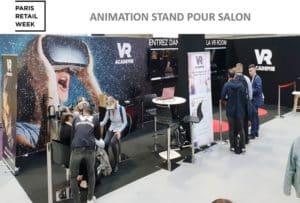 Stand salon Paris retail week