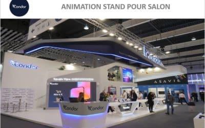 VR Académie s'envole pour Barcelone au salon MWC sur le stand Condor