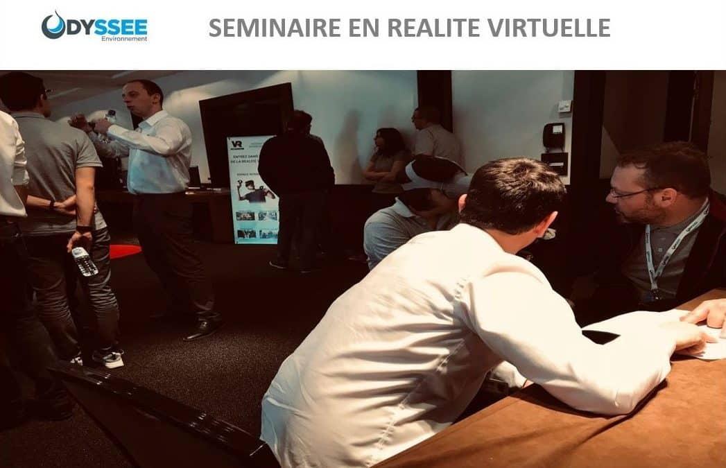 VR Académie propose une idée originale de séminaire en réalité virtuelle à Odyssée