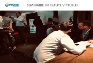 Animation séminaire réalité virtuelle