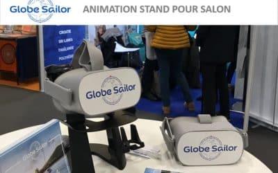 GlobeSailor promeut son stand avec la réalité virtuelle