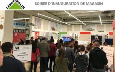Leroy Merlin anime son nouveau magasin grâce à la réalité virtuelle