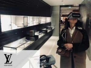 louis vuitton animer son magasin avec la réalité virtuelle