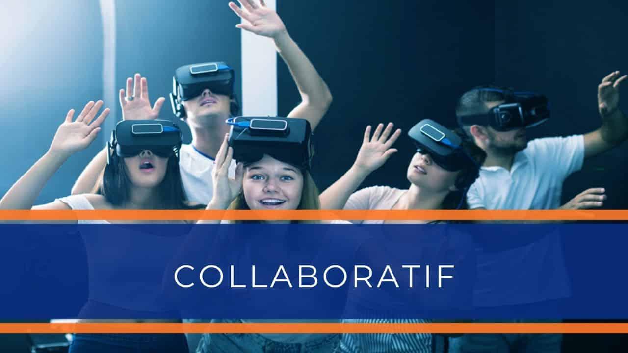 Location animation réalité virtuelle - Animation expériences collaboratives