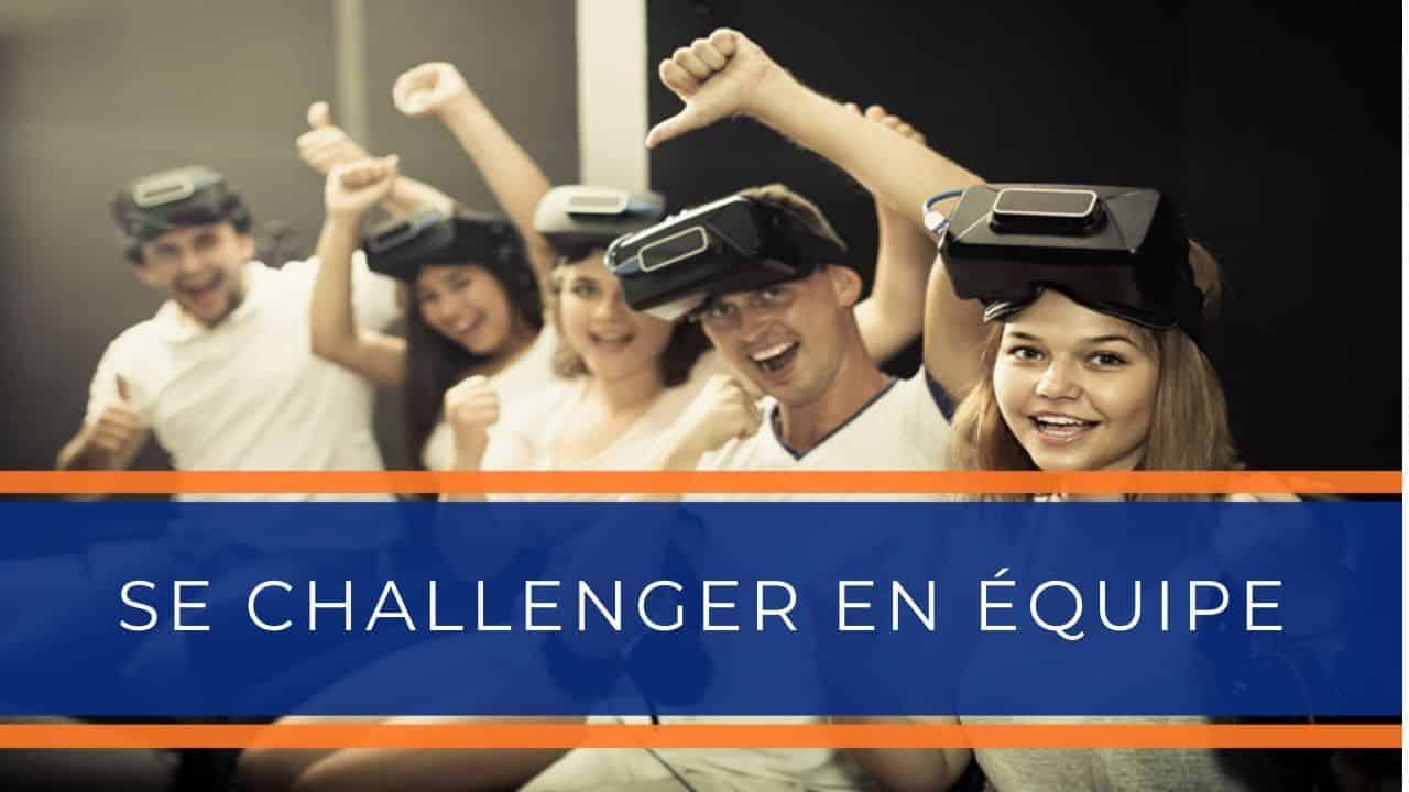 Location animation réalité virtuelle - Animation réalité virtuelle challenge en équipe