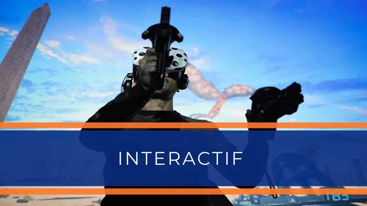 Animation en Réalité Virtuelle - Interactif