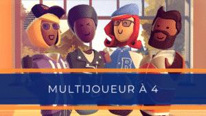 Animation réalité virtuelle Multijoueurs événementiel