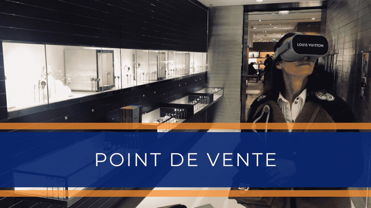 Animation réalité virtuelle pour Magasin Point de vente Centre commercial evenementiel