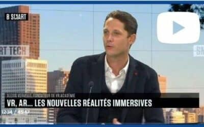 Emission B SMART sur les réalités immersives