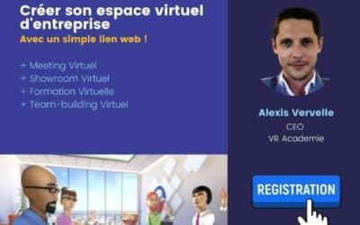 Expert Talk – Créer son évènement virtuel 3D avec un simple lien web